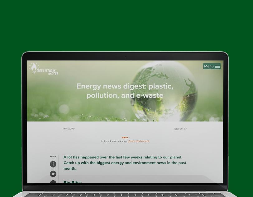 Green Network Energy blog content
