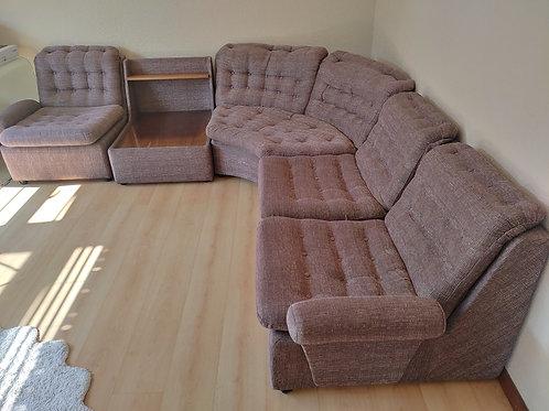 Fabric corner couch