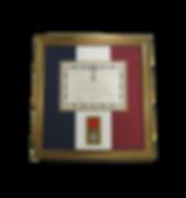 French Medal of Honor Custom Framed