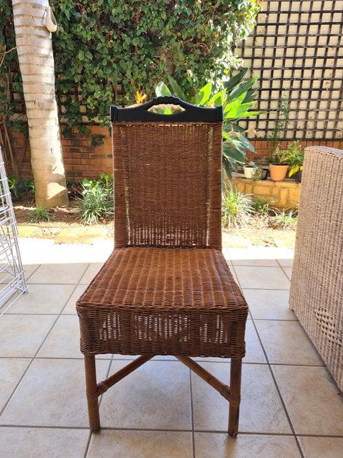 6x Rattan Dinning Room Chairs