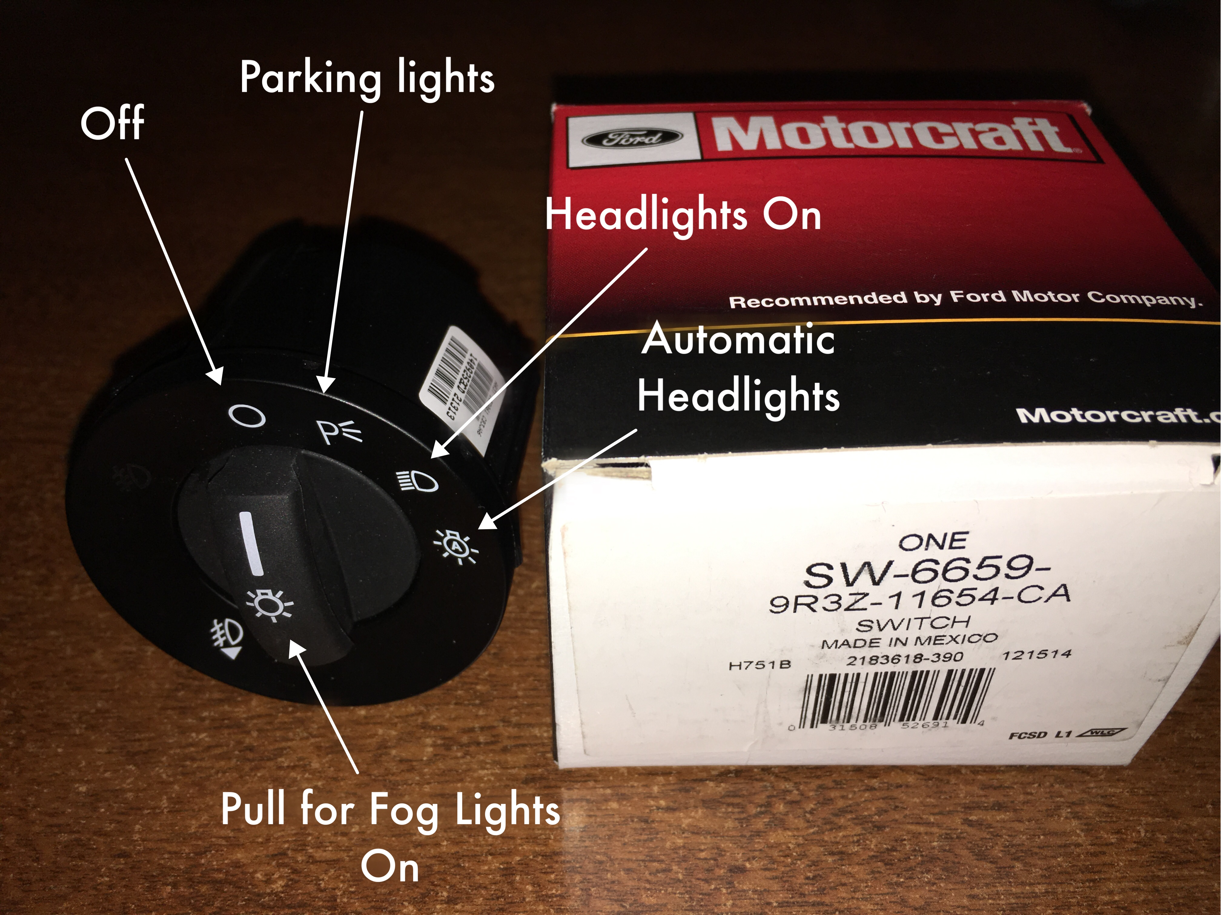 Automatic Headlights Install on a 2010 Ford Fusion SE