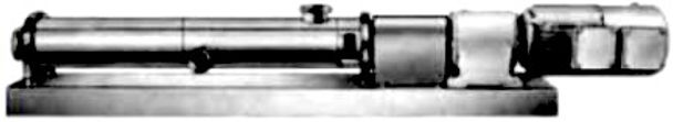 Block Design Sanitary Single Screw Pump