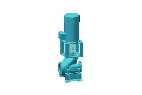 Double Suction Volute Casing In-line Pump