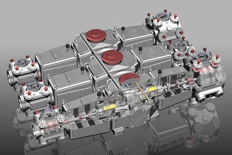 Horizontal Type Compressor