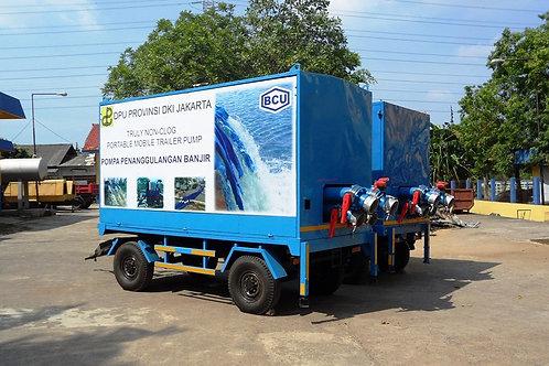 Mobile Flood Pump