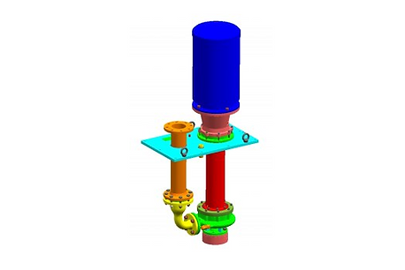 Volute Casing immersible Pump