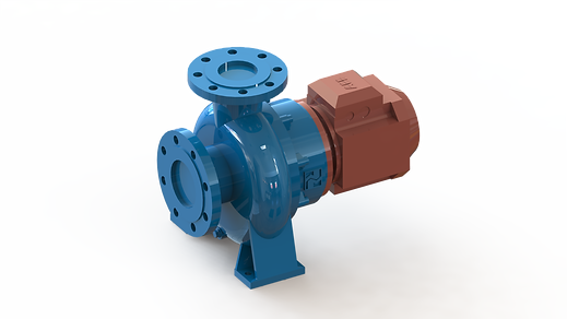 End Suction Supplementary Pump