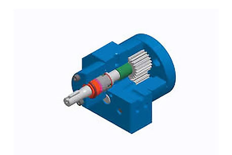 Gear Pump for Abrasive and Poor Lubrication Fluid