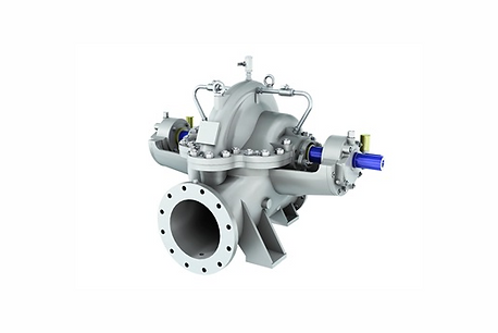 Axially Split Double Suction Pump