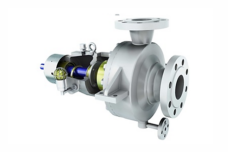 OH2 - Heavy Duty End Suction Pump