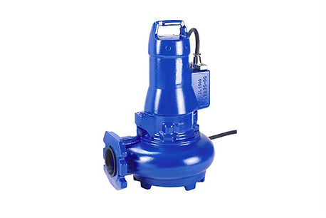 Volute Casing Cutter Impeller  Compact Waste Water Pump