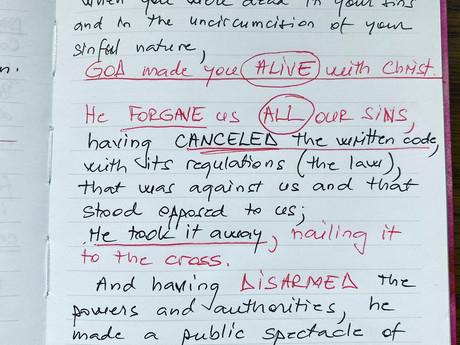 Grace versus Law