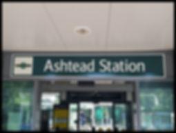 Ashtead Surrey sign