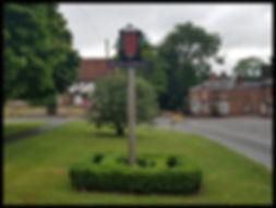 Bletchingley Surrey sign