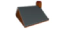 Image of a hipped roof before a loft conversion