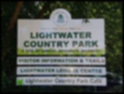 Lightwater Surrey sign