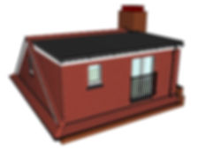 Image of a hipped to gable loft conversion