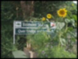 Belmont Surrey sign