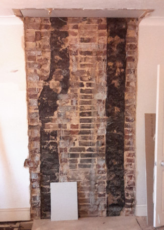 guide to the removal of a chimney breast as part of a loft. Black Bedroom Furniture Sets. Home Design Ideas