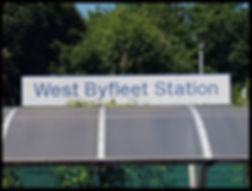 West Byfleet Sign