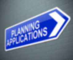 Sign for planning permission for a loft conversion