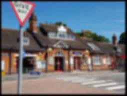 Farnborough Hampshire Station