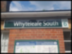 Whyteleafe Surrey Sign