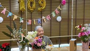 祝109歳