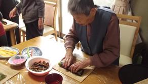 節分☆豆まき~恵方巻き作り☆