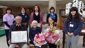 100歳の素敵な笑顔
