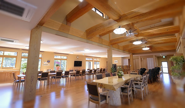 元気の湧の施設内部(食堂)