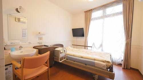 短期入所生活介護(ショートスティ)の居室の様子