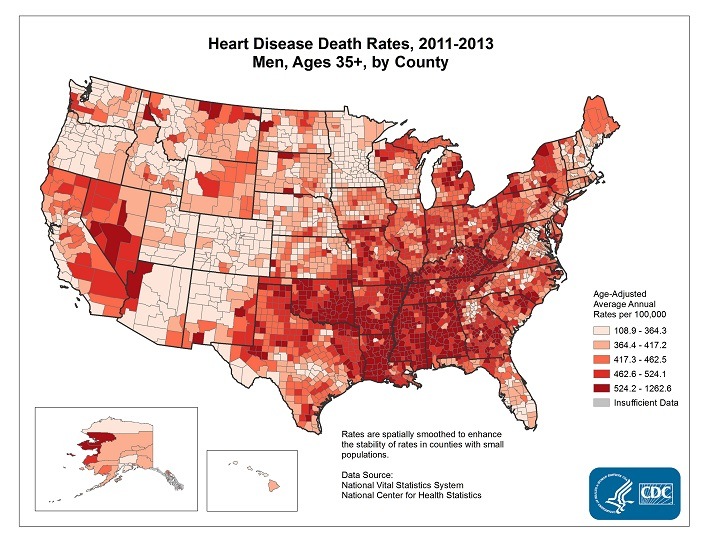 Heart disease graph of death rates.JPG