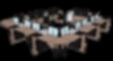 Xyneo salle rang - Chene de Highland 3-4