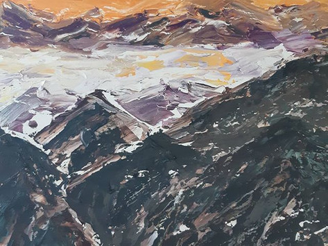Twi-Light: Abstract Realism in Landscapes