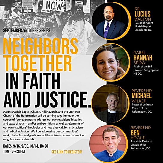 neighbors together in faith and justice