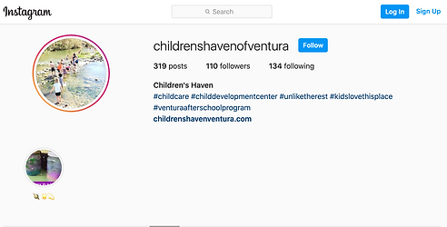 Instagram - childrenshavenofventura