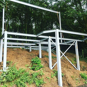 Steel work is complete!! __RufussRoost.c