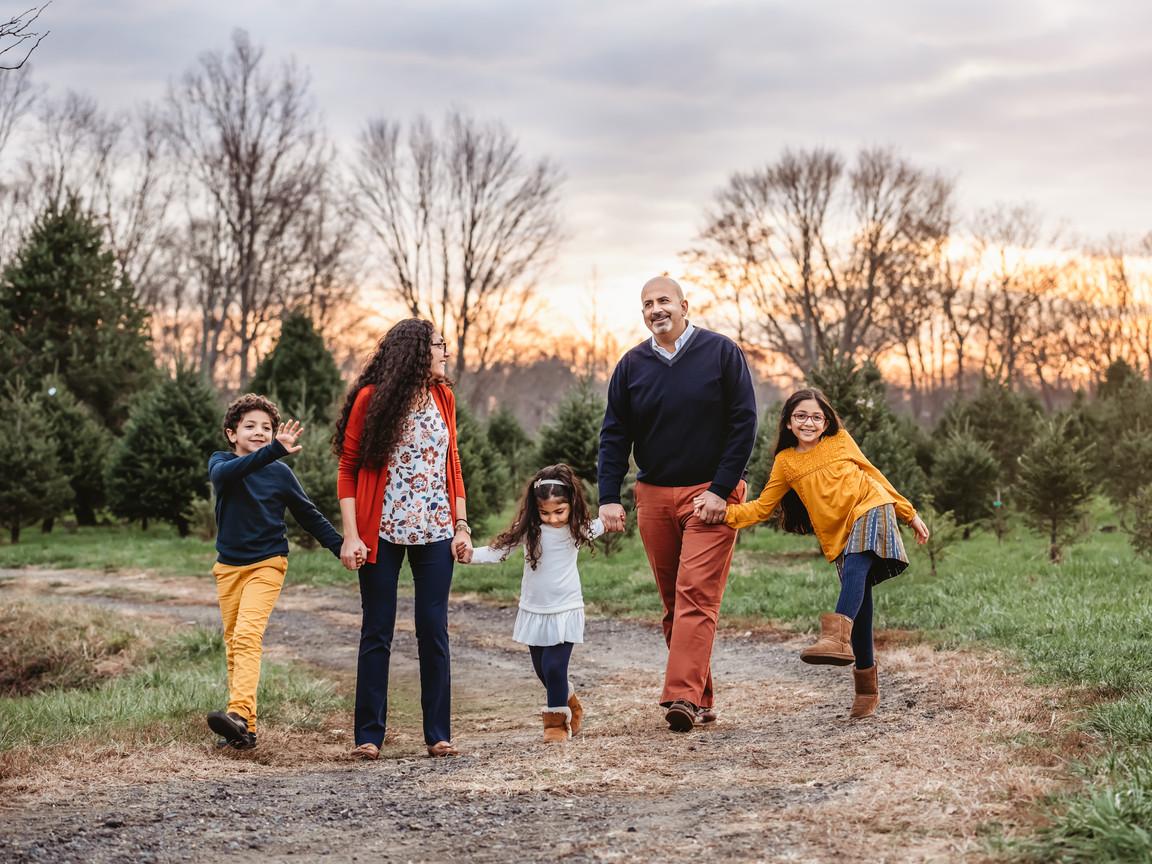 New Jersey Christmas Tree Farm Family Ph