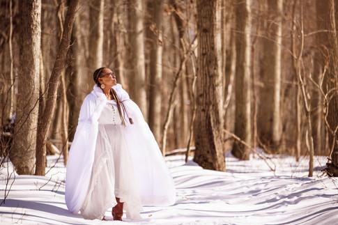 Snow Portrait New Jersey Photographer