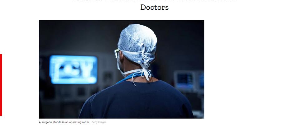 Os EUA não podem se dar ao luxo de perder mais médicos negros