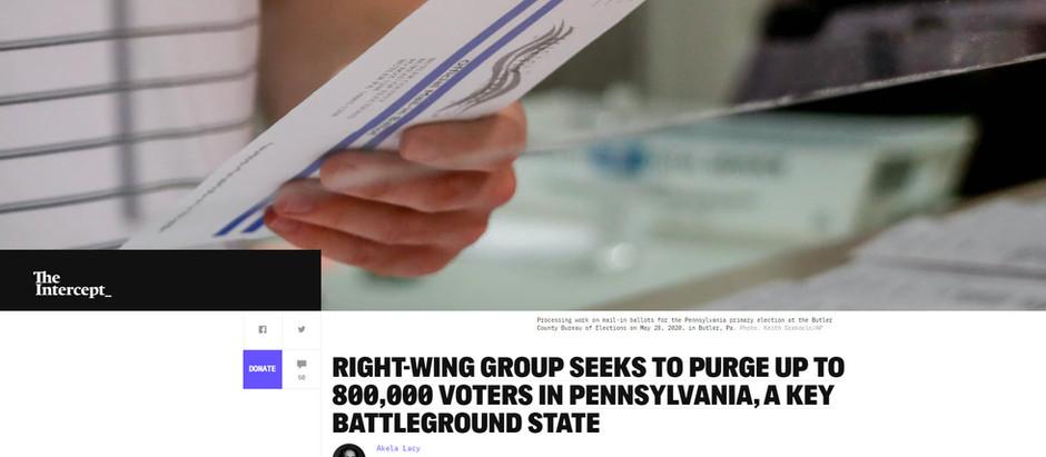 Grupo da direita busca eliminar 800k eleitores na Pensilvânia [...]