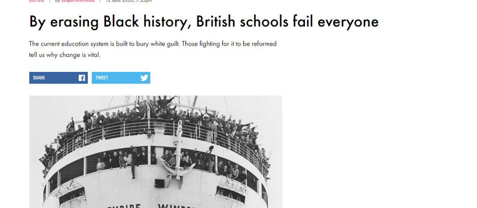 Ao apagar a história negra, escolas britânicas falham com todos