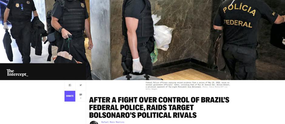 Depois de disputa pelo controle da PF, batidas policiais têm como alvo rivais políticos de Bolsonaro