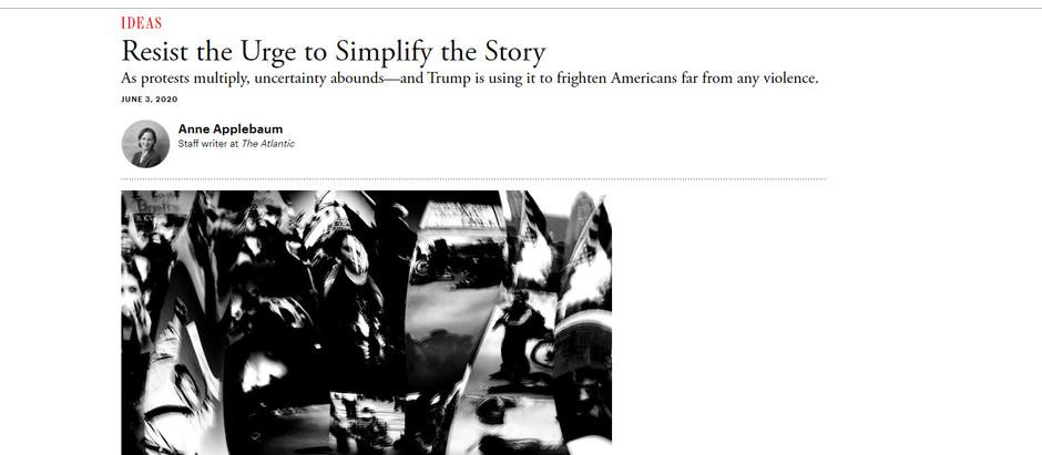 Resista ao desejo de simplificar a história