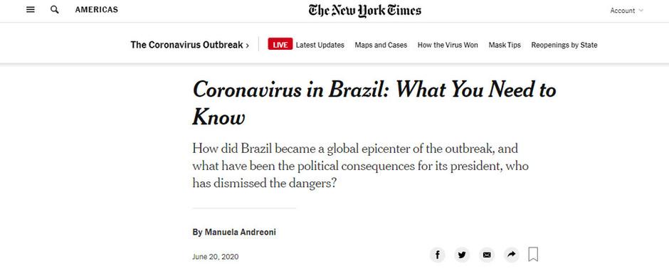 Coronavírus no Brasil: o que você precisa saber