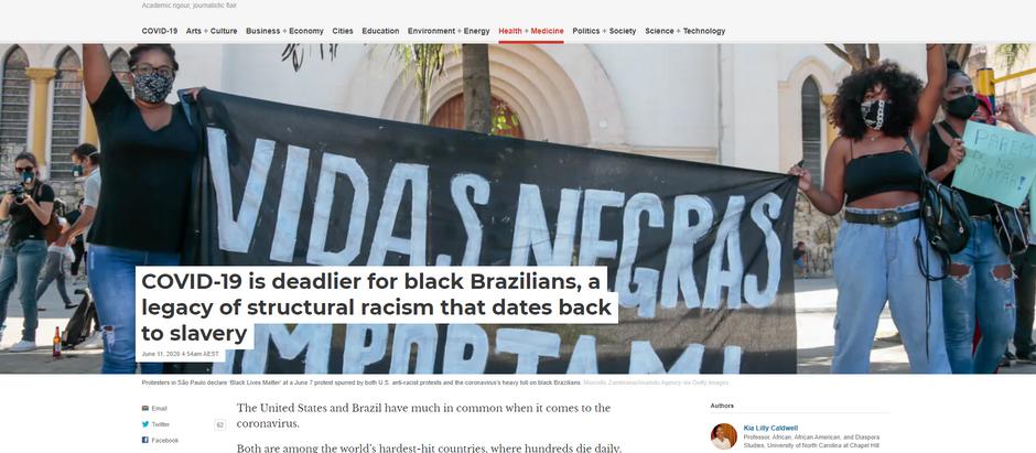 COVID-19 é mais mortal para negros brasileiros [...]