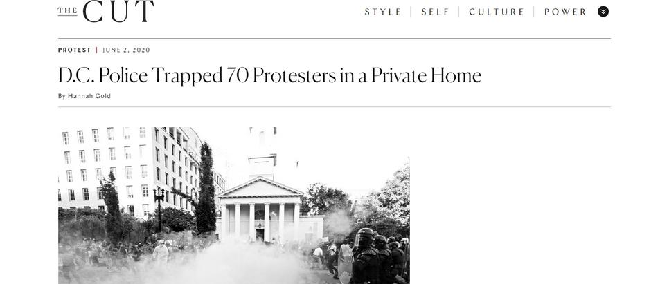 Polícia de Washington D.C prende 70 manifestantes em uma casa particular