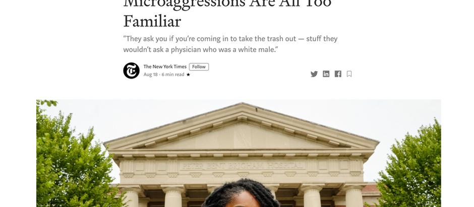Para Médicos Racializados, Microagressões São Muito Familiares