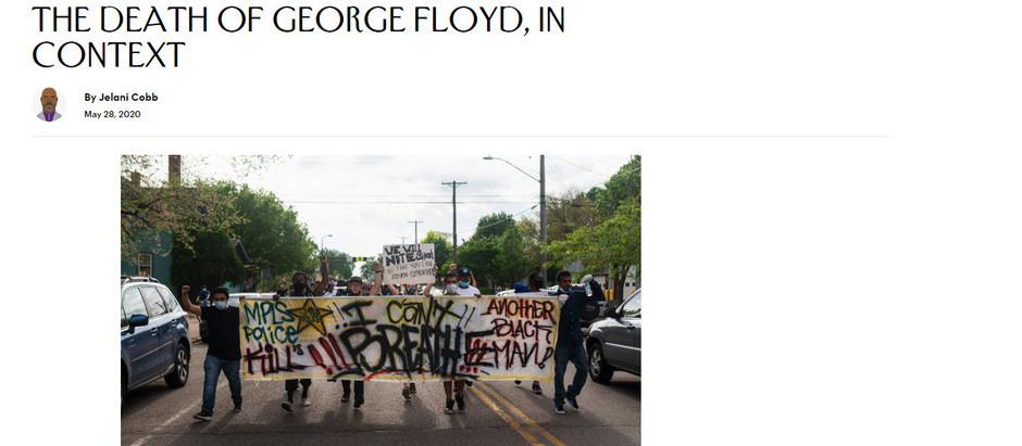 A morte de George Floyd, em contexto